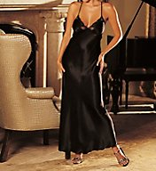 Shirley of Hollywood Charmeuse and Lace Long Gown 20300