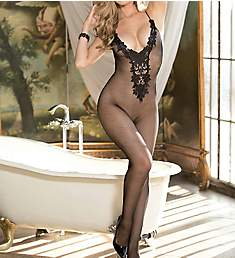 Shirley of Hollywood Venise Open Crotch Bodystocking 90377