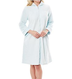 Softies by Paddi Murphy Plush Velour Short Zip Robe 9620-40