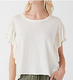 Splendid Flutter Short Sleeve Tee RS9K370
