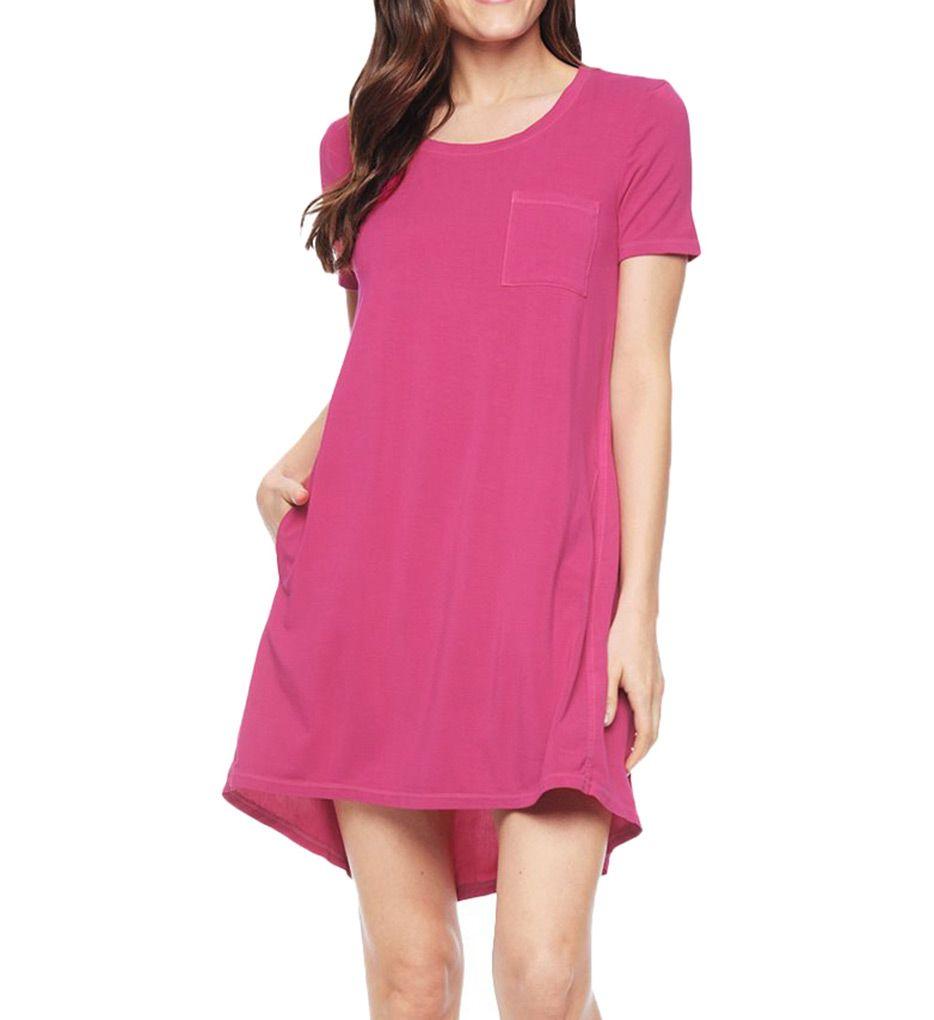 Splendid Rayon Jersey Short Sleeve Dress SD9959