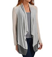 Splendid Color Blocked Drapey Lux Cardigan ST9773