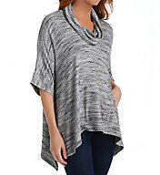 Splendid Brushed Tri-Blend Cowl Poncho ST9859