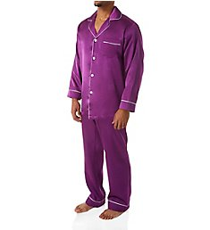 Stacy Adams Big Man Satin Lounge Set S21000B
