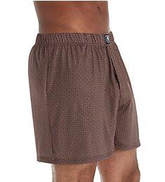 Stacy Adams Moisture Wicking ComfortBlend Fashion Boxer Short SA1003