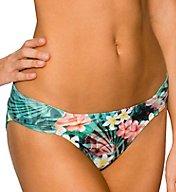 Sunsets Tropical Oasis Side Shirred Swim Bottom 20BTROA
