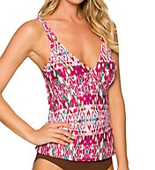 Sunsets Veranda Underwire Tankini Swim Top 86TVERD