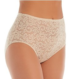 TC Fine Intimates Wonderful Edge All Over Lace Brief Panty A4-135