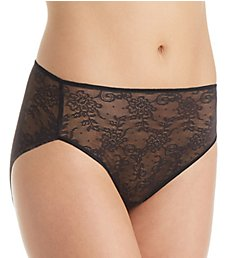 TC Fine Intimates All Over Lace Hi-Cut Brief Panty A4-194