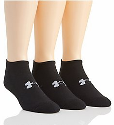 Under Armour Heatgear Performance Solo No Show Socks - 3 Pack U249