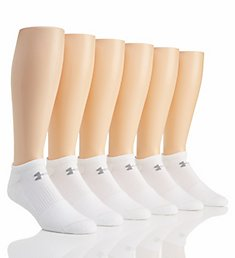 Under Armour Charged Cotton 2.0 No Show Socks - 6 Pack U320