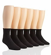 Under Armour Charged Cotton 2.0 Quarter Socks - 6 Pack U321