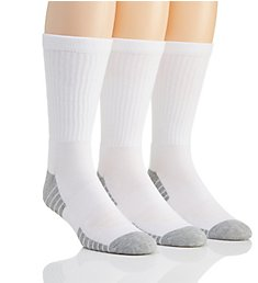 Under Armour Heatgear Performance Tech Crew Socks - 3 Pack U327