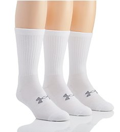 Under Armour Uniform Athletic Crew Socks - 3 Pack U389