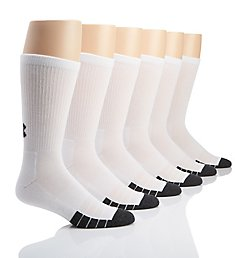 Under Armour Performance Tech Crew Socks - 6 Pack U678