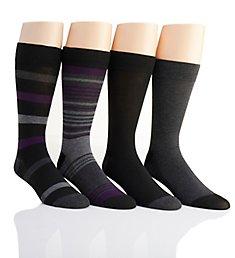 Van Heusen Flex Fashion Dress Socks - 4 Pack 173DR57