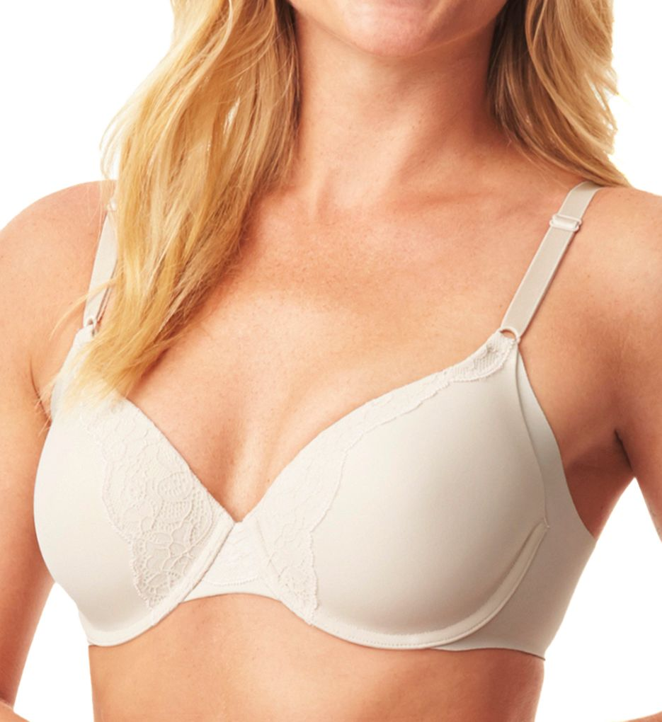 Warner's No Side Effects Underwire Bra with Lace RF9561A