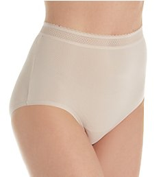 Warner's Breathe Freely Brief Panty With Lace RS4901P