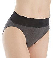 Warner's Cotton with Lace Hi Cut Brief Panty RT2091P
